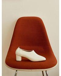 MARONY CROSHET Mc 006 Mid Court Shoes Ivory - White