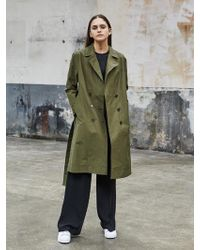 COLLABOTORY - Soft Double Trench - Lyst