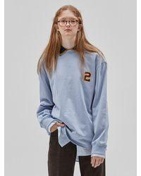 NOHANT 2020 Long Sleeve T-shirt Sky Blue