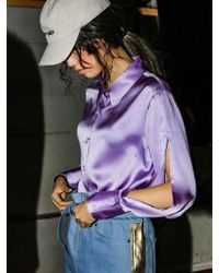 NASTY HABIT - Silk Shirt - Lyst