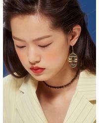 VIOLLINA - Lady Lollipop Drawing Earring - Lyst