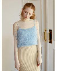 Baby Centaur Cc Knit Sleeveless [] - Blue