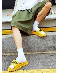 J.DAUL [men] Viva Slipper - Yellow