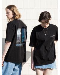 XTONZ Xtt020 Retro Summer Short Sleeve T-shirt () - Black