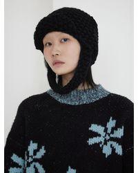 Baby Centaur Handmade Tommy Knit Winter Hat - Black