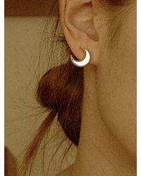 FLOWOOM Moon Light Earrings - Green