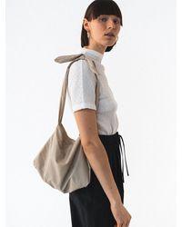 Amomento Small Tote Bag - Natural