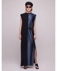 Baby Centaur - Baby Metallic Long Dress Black - Lyst
