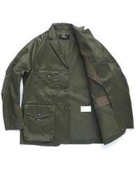 Eastlogue Twill Track Jacket Olive - Green