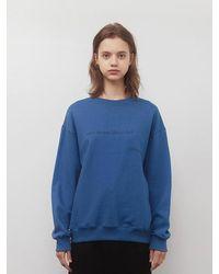 among A Cozy Sweatshirt Blue