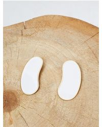 Low Classic - Color Earring - White - Lyst
