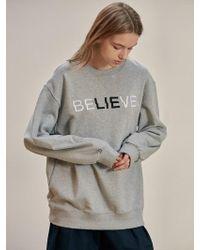 W Concept - B Believe Sweat Gy - Lyst