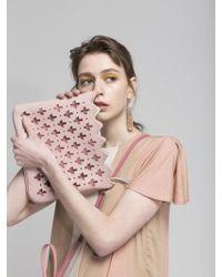 Atelier Park - Marrakesh Line Majorelle Clutch Pink - Lyst