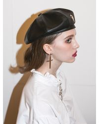 CLUT STUDIO 11 Cross Earrings - Metallic