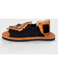 Chubasco Men-m Aztec Rivet Sanddals M17504 - Black