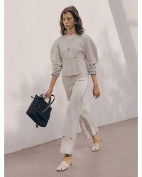 J.CHUNG Nilo Button Trouser - White