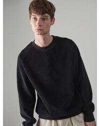 OWL91 Corduroy Sweatshirts - Black