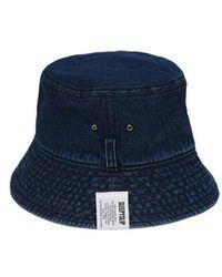 SLEEPYSLIP El Blue Denim Bucket Hat