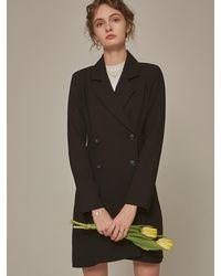 YAN13 - Double Jacket Ops_black - Lyst