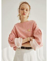 OUI MAIS NON Puzzle Stripe T-shirt (3 Colors) - Yellow