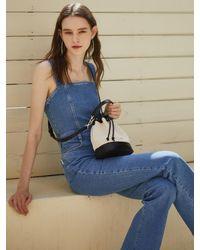 Lapalette Essential Canvas Bucket Bag - Blue