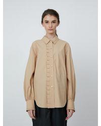 AEER Shirt Flounce - Natural
