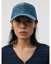 Low Classic Sustainable Society Cap (blue)