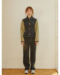 Fleamadonna Reformation Denim Jacket 2 Color - Black