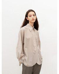 AVA MOLLI Coolmax Zentra Balloon Shirt - Natural