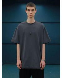 MADMARS Square T-shirt Charcoal - Grey