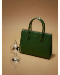 MUTEMUSE Magazine Bag Small (mermaid) - Green