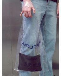 ANOUTFIT - [unisex] Pvc Tote Bag Black - Lyst
