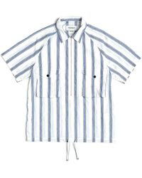 Eastlogue Scout Pull-over Half Shirt - Blue