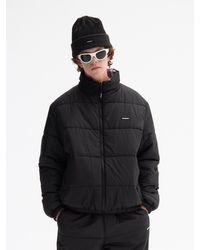 WKNDRS Reversible Padded Jacket Black