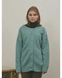 among A Two-way Knit Cardigan_emerald