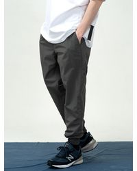 COSTUME O'CLOCK Essential Nylon JOGGER Trousers Darkgray - Grey
