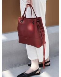 ATCLIP Knot Bag Small_red