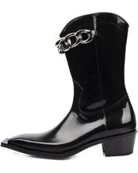SO.U:LESURES - Canape Middle Boots Black - Lyst