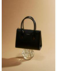 MUTEMUSE Magazine Bag Mini (ink) - Black