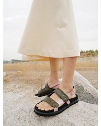 Reike Nen Turnover Mould Sandals - Multicolour