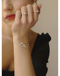FLOWOOM Melted Honey Bracelets - White