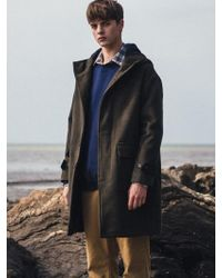 F.ILLUMINATE - [unisex] Duffle Hood Coat Khaki - Lyst