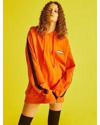 Charm's Line Hoody Orange
