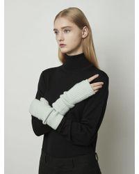 MADGOAT - Cashmere Hand Warmer Mint - Lyst