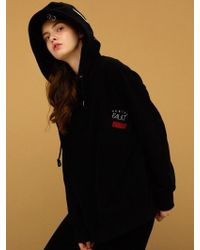 CANLEAP - [unisex] Pocket Over-fit Hoodie Black - Lyst