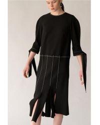 AEER - Dress Wide Fringe Bk - Lyst