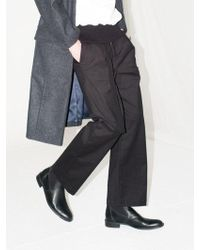 BONNIE&BLANCHE - Belted Wide Pants Black - Lyst