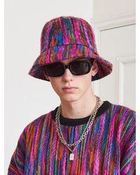 13Month Jacquard Knit Bucket Hat - Pink