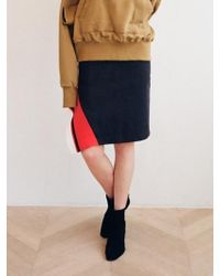 Noir Jewelry - Diagonal Skirt - Lyst