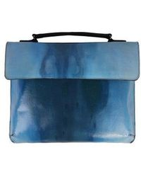 ULKIN X Unidentified Upcycling Mini Trunk Bag_cam - Blue
